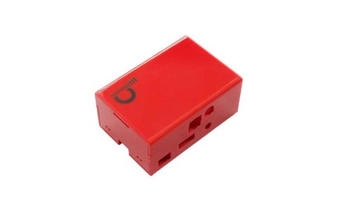 Pi Supply JustBoom Digi HAT Case - Red