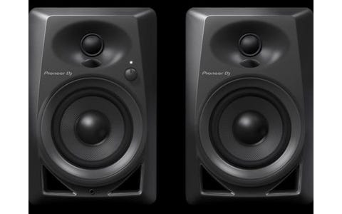 Pioneer DM-40 Active Monitor Speakers - Black
