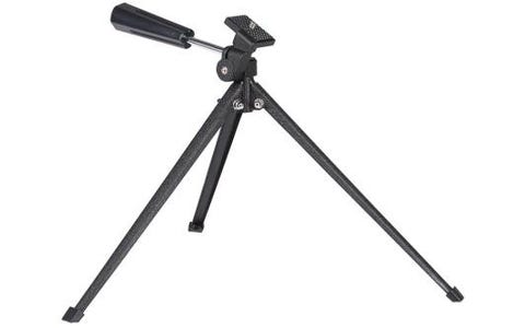 PRAKTICA Ultra Light Weight Portable Low level Tripod 1-Way Pan + Tilt