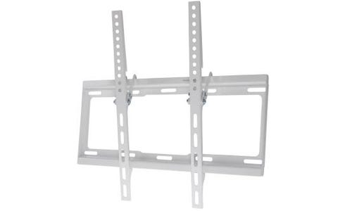 "ProperAV Flat Wall Tilting TV Bracket Flat and Curved 32""-55"" - White"