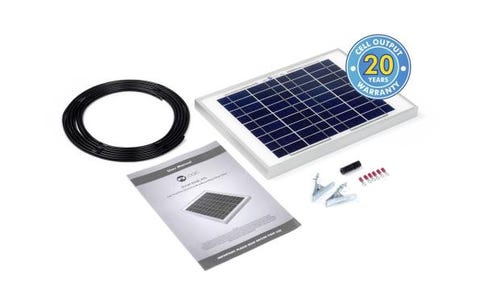 PV Logic 10wp Solar Panel Kit