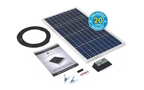 PV Logic 30wp Solar Panel Kit & 10Ah Charge Controller