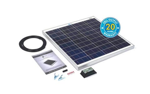 PV Logic 60wp Solar Panel Kit &10Ah Charge Controller