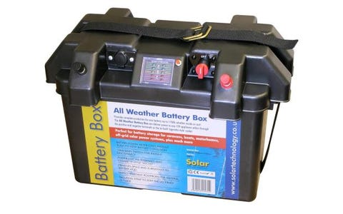 PV Logic Deluxe All Weather Battery Box