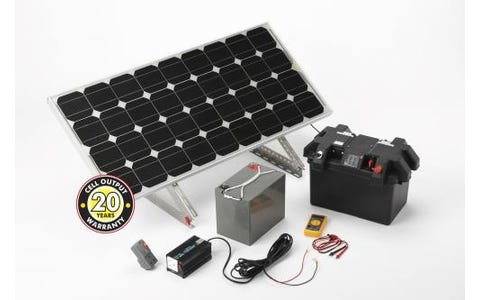 PV Logic Solar Power Station 120w