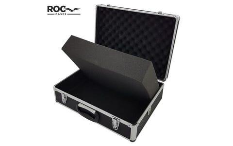 ROC Aluminium Case (Black) - 150x330x460mm Shoulder strap FL-FC