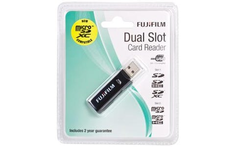 Fujifilm Dual Slot USB Card Reader