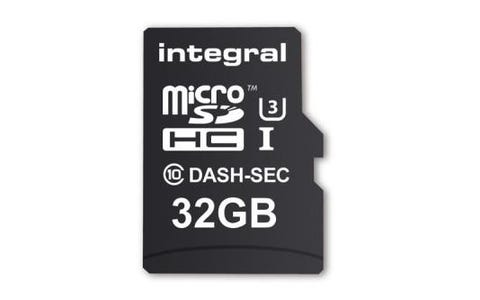 Integral 32GB Dash/Security Cam Class 10 UHS-I U3 MicroSDHC Memory Card