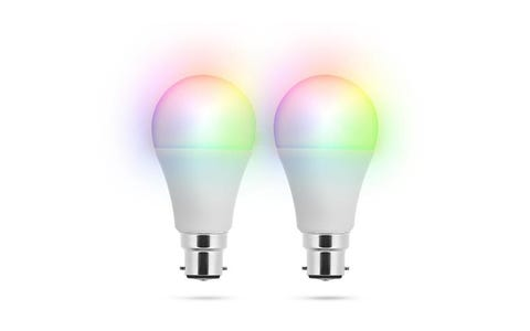 Smartwares Smarthome PRO Bayonet (B22) Smart Bulb Twin Pack- Variable Colour