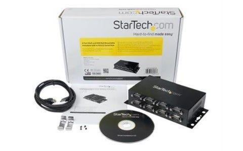 Startech 8 Port USB to DB9 RS232 Serial Adapter Hub