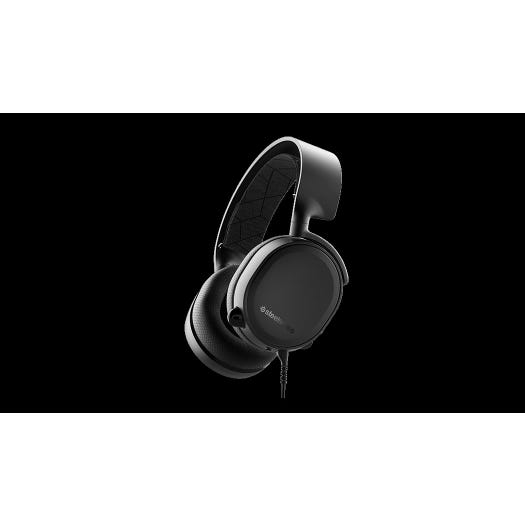 4e0d08a545c SteelSeries Arctis 3 2019 edition Gaming Headset - Black | Free Shipping |  Maplin