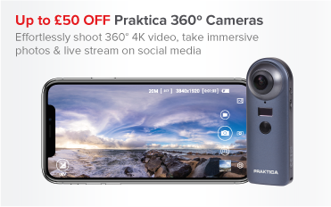 Up to £50 OFF PRAKTICA 360 Cameras