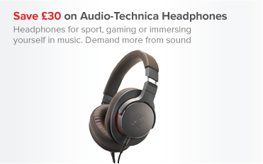 Save £30 on Audio-Techinca Headphones