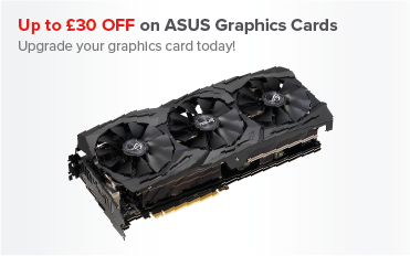 Save Up To £30 on ASUS Graphics Cards