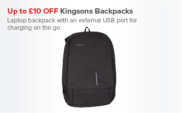 Save Up To £10 OFF Kingsons Backpacks