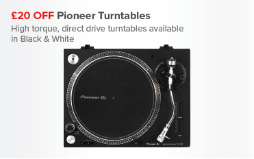 £20 OFF Pioneer Turntables=