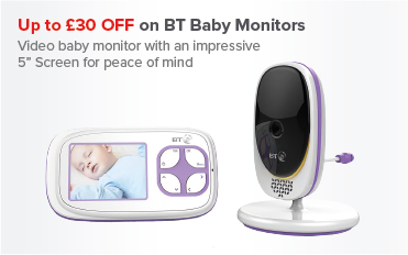 Up to £30 OFF BT Baby Monitors