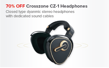 Save over 60% OFF Crosszone Headphones