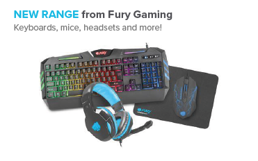 NEW range from Fury Gaming