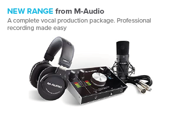 New range from M-Audio