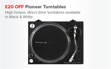 £20 OFF Pioneer Turntables