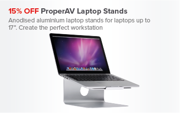 15% OFF ProperAV Laptop Stands