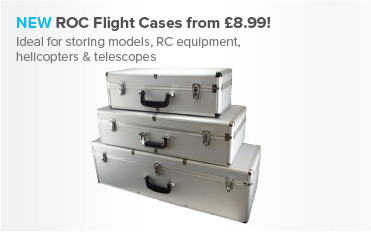 NEW ROC Flight Cases from £8.99