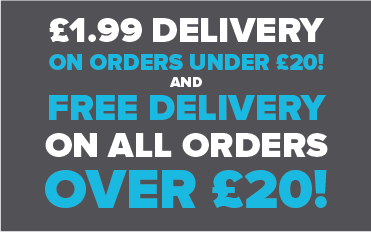 £1.99 Delivery on orders under £20!