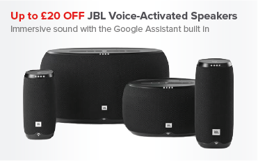 Up to £20 OFF JBL Voice-Activated Speakers