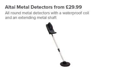 Altai Metal Detectors from £29.99