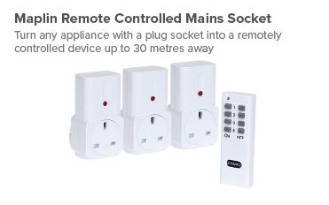 Shop Maplin Remote Controlled Mains Socket