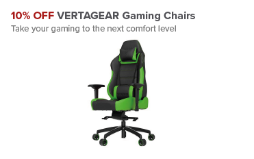 10% OFF Vertagear Gaming Chairs
