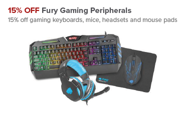 15% OFF Fury Gaming Peripherals